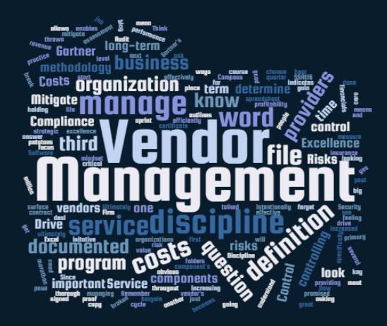 vendor management delaware