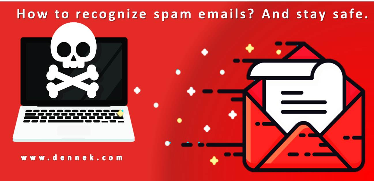 How to recognize spam emails